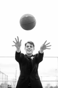 graduate with basketmall