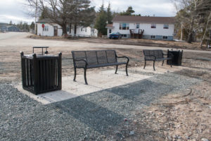 Benches in Glovertown