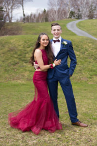 Adam Janes and Hannah Lawrence