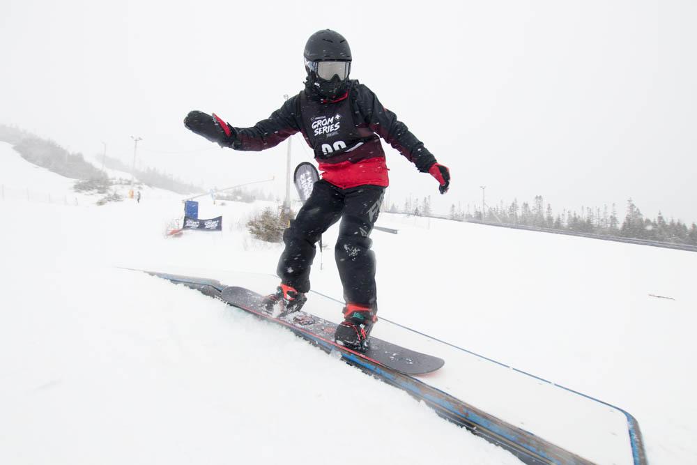 White Hills snowboarder