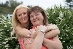Lorna and Allison