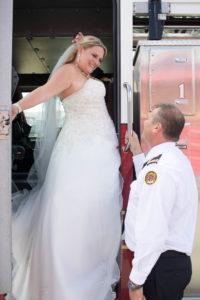 gander fire hall wedding