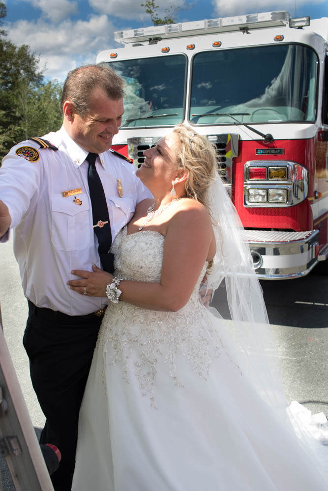 gander fire hall wedding