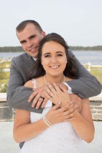 Gander bride and groom