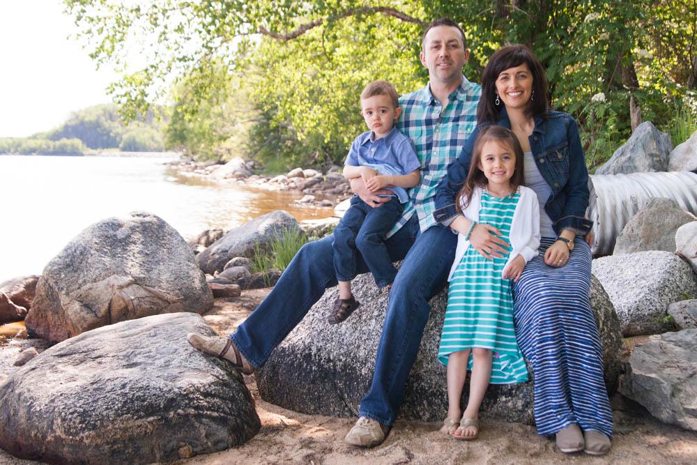 Family Portrait Terra Nova National Park