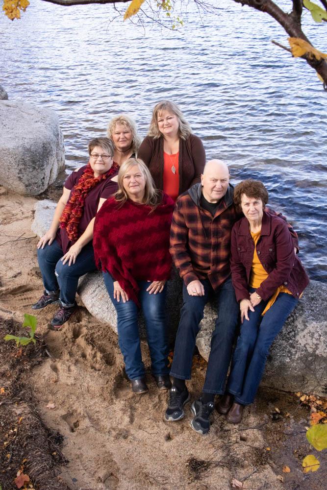 Glovertown family portrait